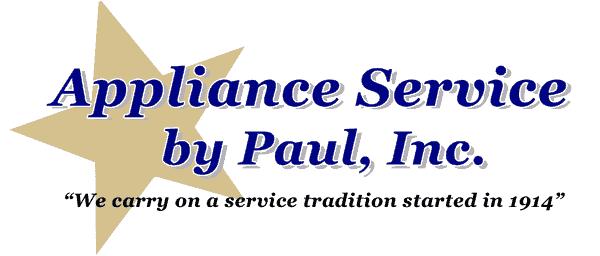 Appliance Service By Paul